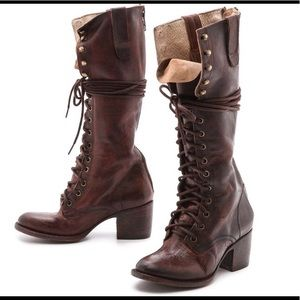 Freebird Granny Lace-Up Boots
